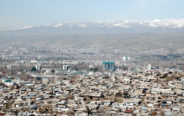 Panorama of Dushanbe