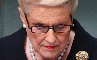 The statistics speak volumes about Speaker Bronwyn Bishop's management of the debating chamber, with 319 Labour MPs ejected under her rule, compared to only five Coalition MPs  as at  24.3.15. Photo: Alex Ellinghausen