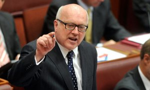 Deputy opposition leader in the Senate senator George Brandis