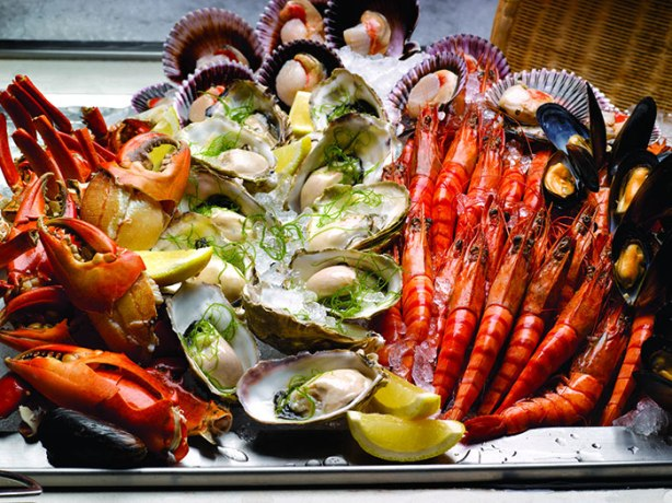 Seafood-buffet