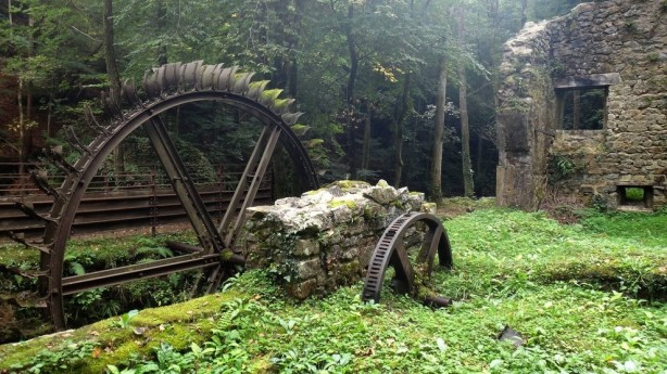 Abandoned Blade Mill, France