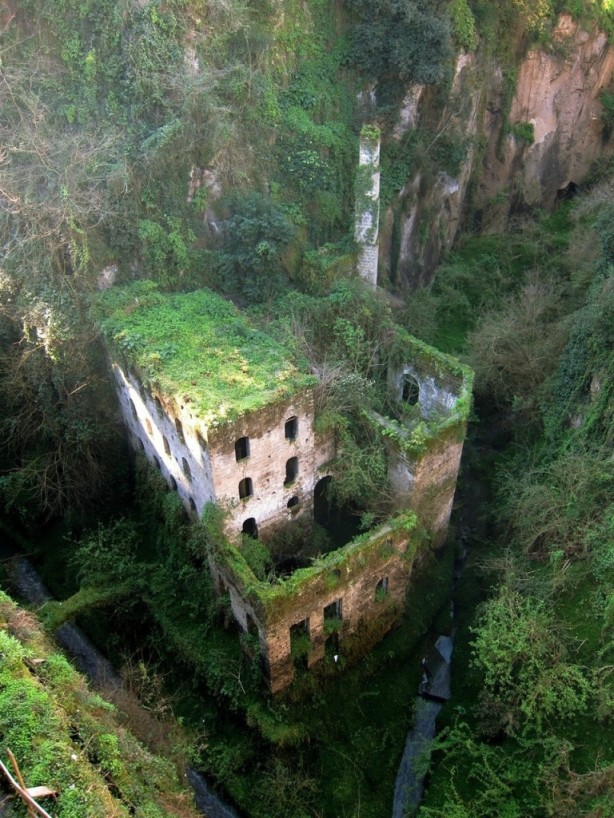 Abandoned 1886 mil in Sorrento, Italy