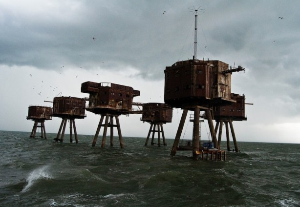 Maunsell Sea Forts, Redsands, Thames Estuary, England