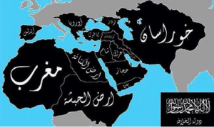 Daesh map