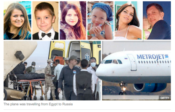 Just some of those killed on the Russian flight.