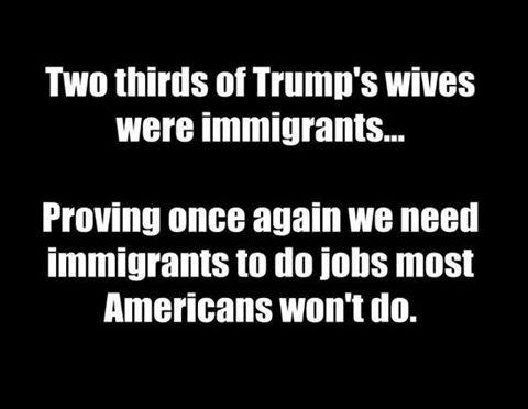 Trumps wives