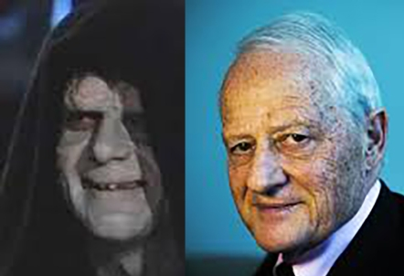 Widespread rumours that Ruddock is actually the evil Emperor from Star Wars are very unkind and will get no credence in this column.