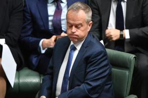 Bill Shorten in Parliament